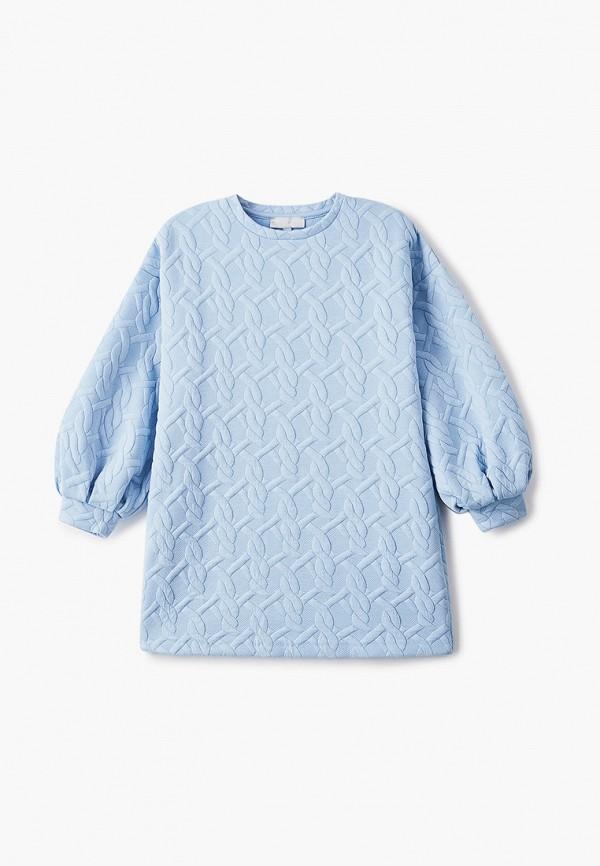 Платья для девочки Smena цвет голубой