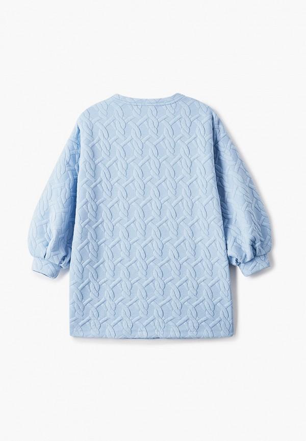 Платья для девочки Smena цвет голубой  Фото 2