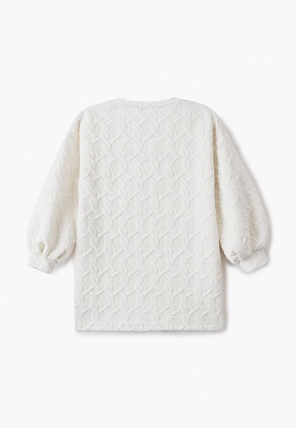 Платья для девочки Smena цвет белый  Фото 2