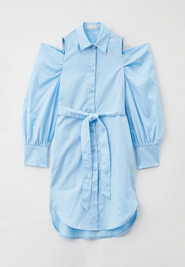 Платье Smena голубого цвета