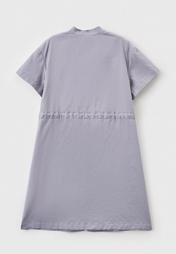 Платья для девочки Smena цвет серый  Фото 2