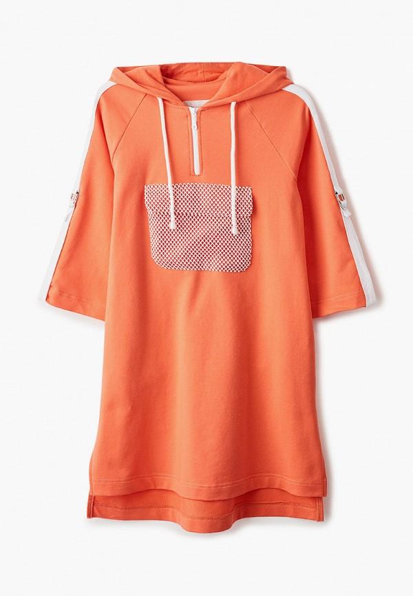 Платья для девочки Smena цвет оранжевый