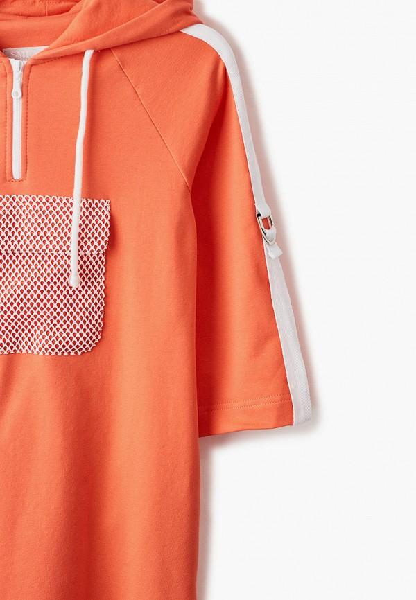 Платья для девочки Smena цвет оранжевый  Фото 3