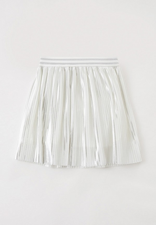 юбка smena для девочки, серебряная