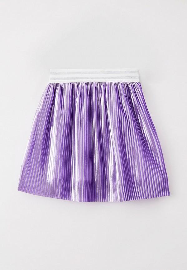 юбка smena для девочки, фиолетовая