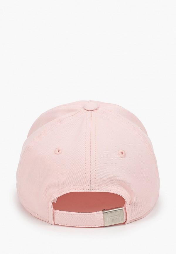 Детская бейсболка Fila цвет розовый  Фото 2