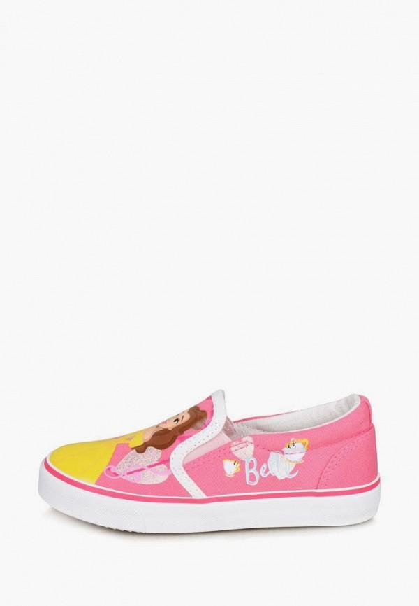 слипоны disney для девочки, розовые