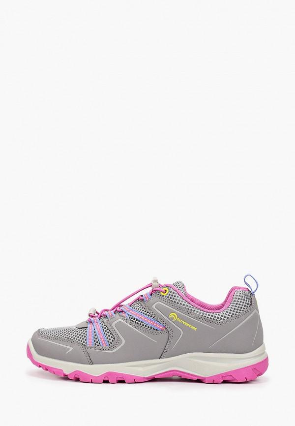 Кроссовки для девочки Outventure цвет серый