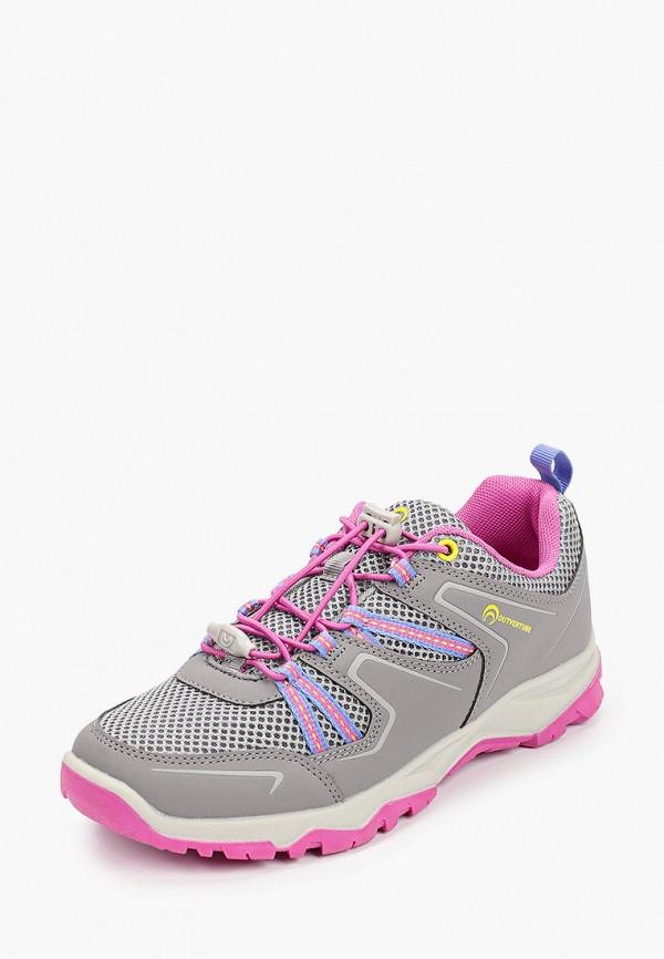 Кроссовки для девочки Outventure цвет серый  Фото 2