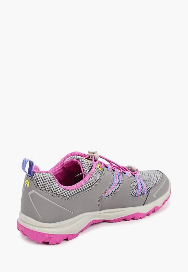 Кроссовки для девочки Outventure цвет серый  Фото 3