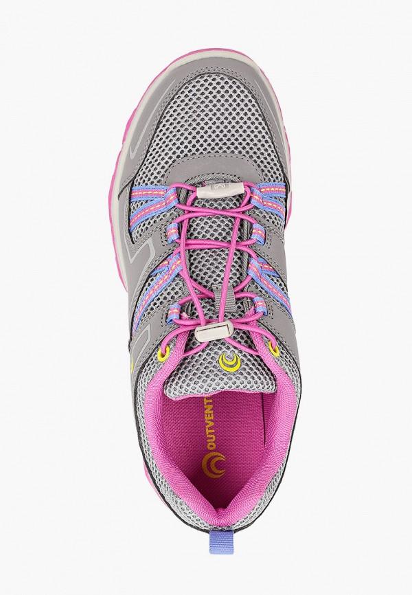 Кроссовки для девочки Outventure цвет серый  Фото 4