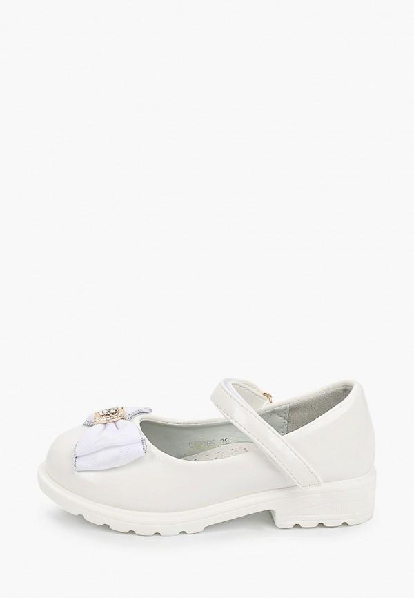 Туфли для девочки Капитошка цвет белый