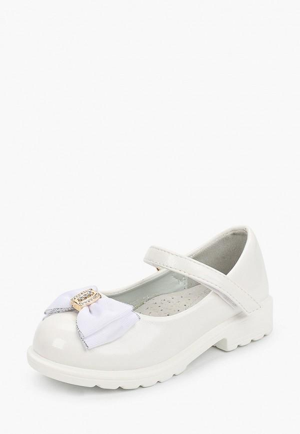 Туфли для девочки Капитошка цвет белый  Фото 2