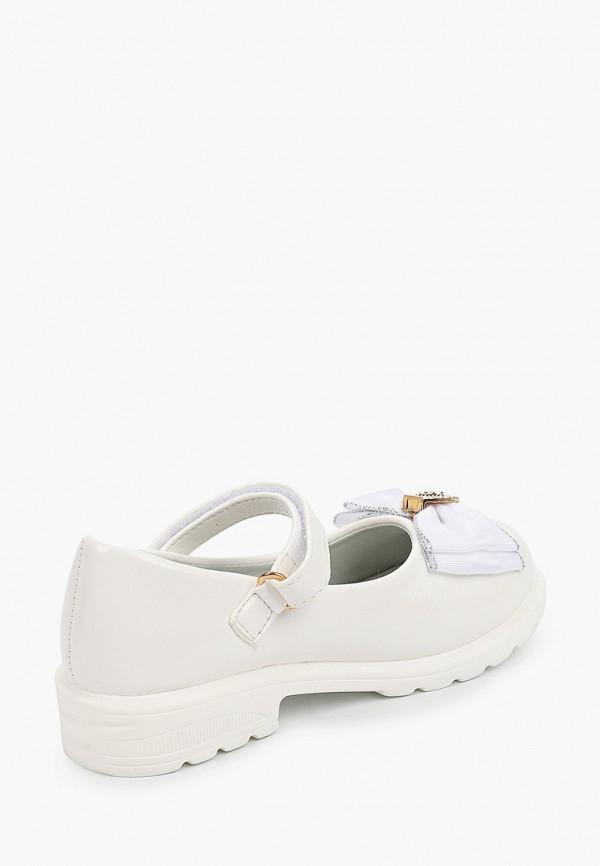 Туфли для девочки Капитошка цвет белый  Фото 3