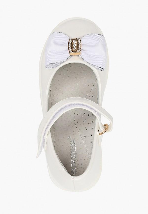 Туфли для девочки Капитошка цвет белый  Фото 4