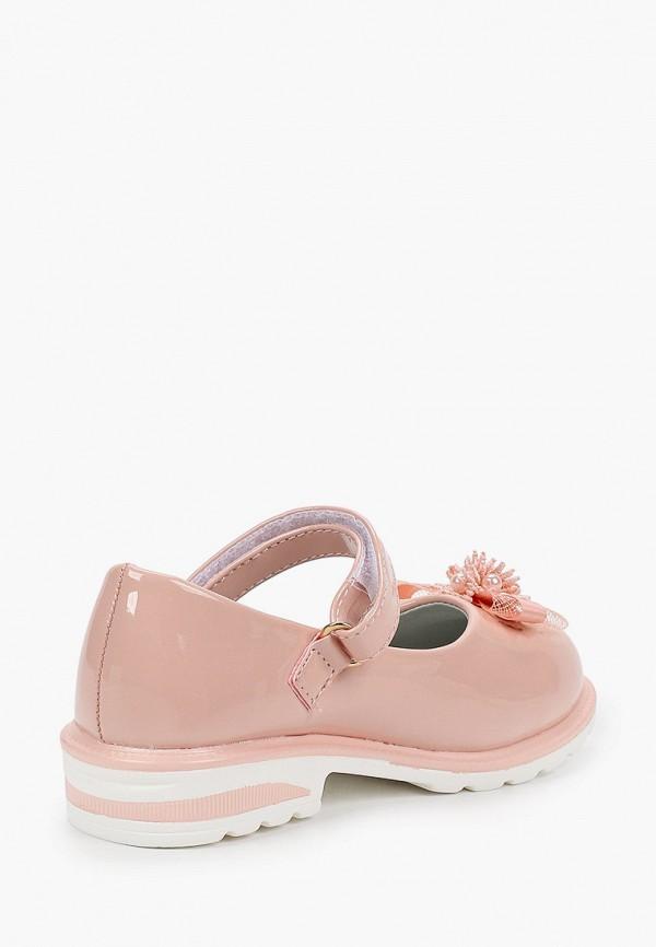 Туфли для девочки Капитошка цвет коралловый  Фото 3