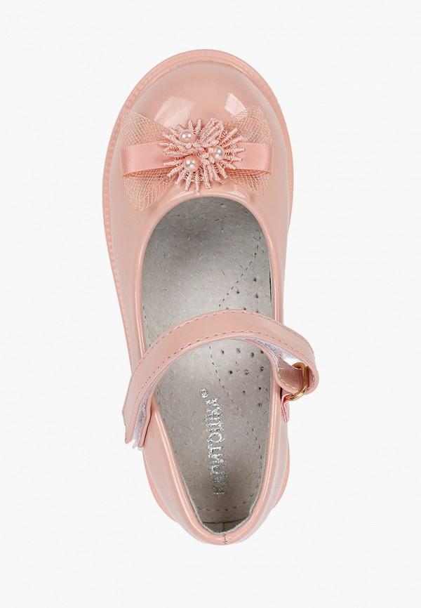 Туфли для девочки Капитошка цвет коралловый  Фото 4