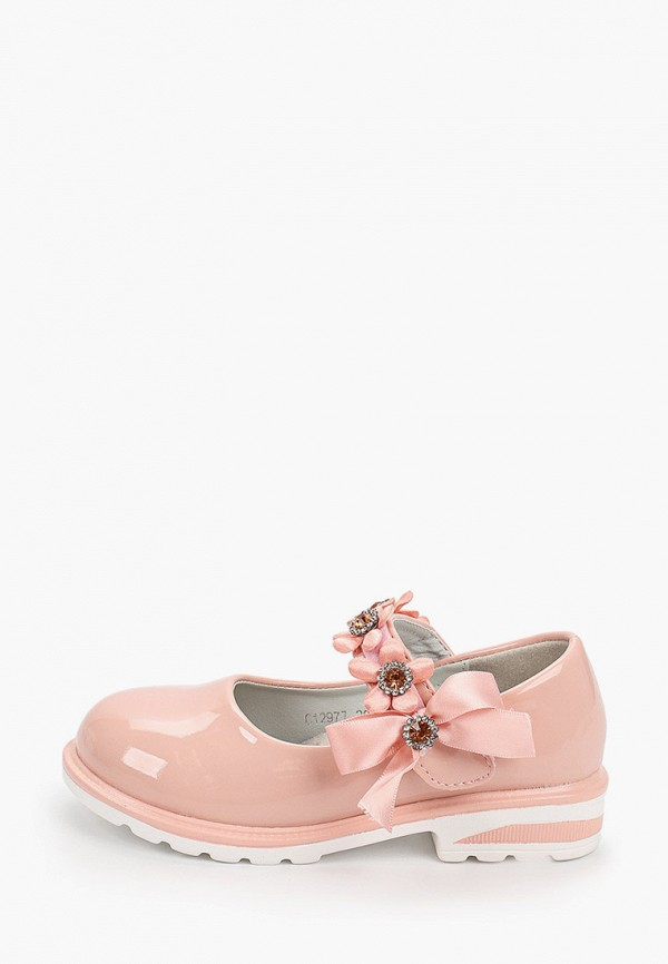 Туфли для девочки Капитошка цвет розовый