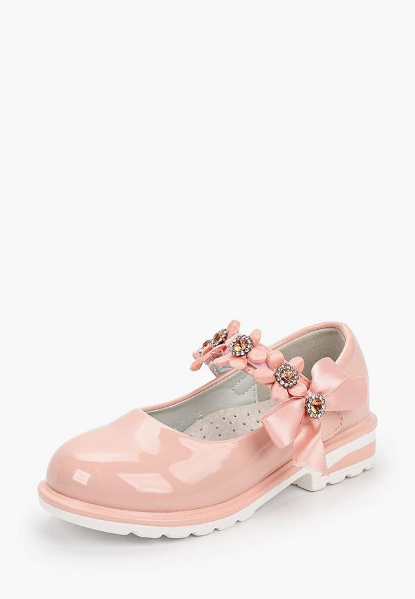 Туфли для девочки Капитошка цвет розовый  Фото 2