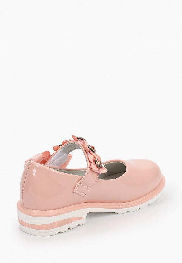 Туфли для девочки Капитошка цвет розовый  Фото 3
