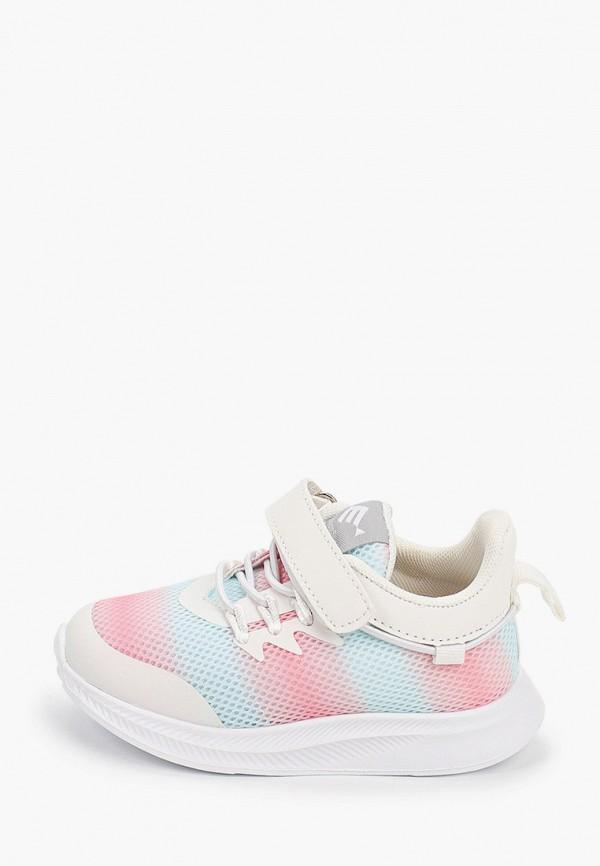Кроссовки для девочки Капитошка цвет разноцветный