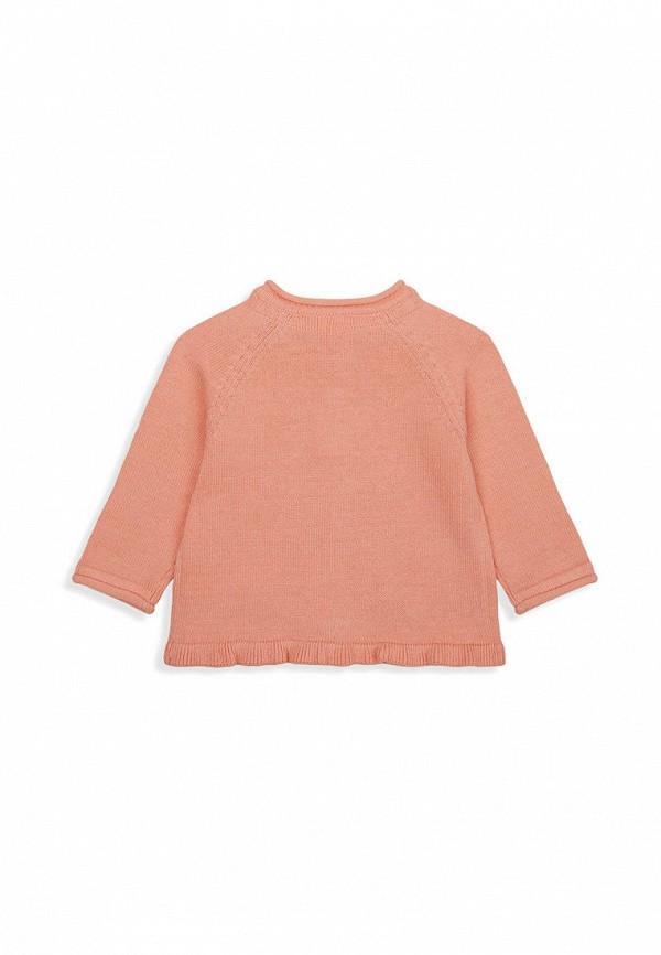 Кардиган для девочки Mothercare цвет коралловый  Фото 2