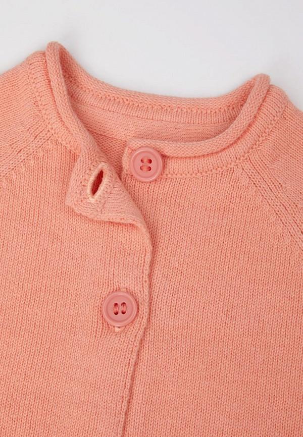 Кардиган для девочки Mothercare цвет коралловый  Фото 3