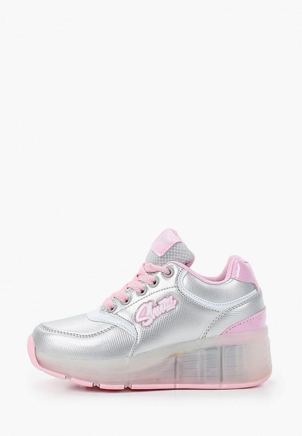 Кроссовки для девочки Shuzzi цвет серебряный