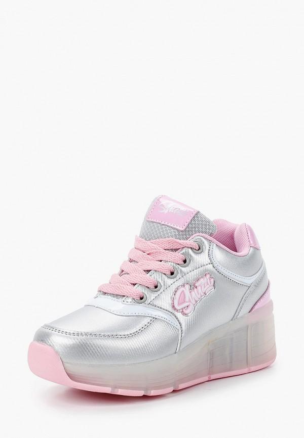 Кроссовки для девочки Shuzzi цвет серебряный  Фото 2