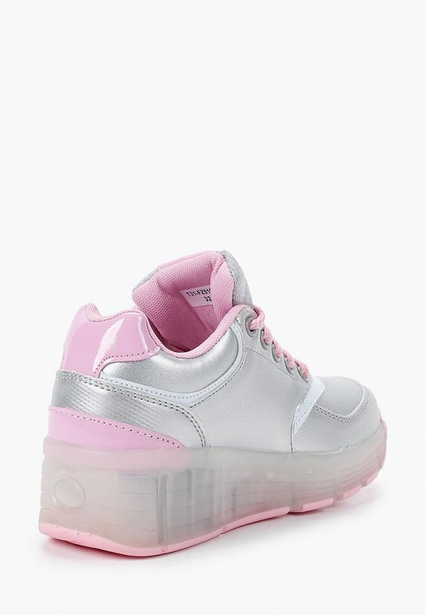Кроссовки для девочки Shuzzi цвет серебряный  Фото 3