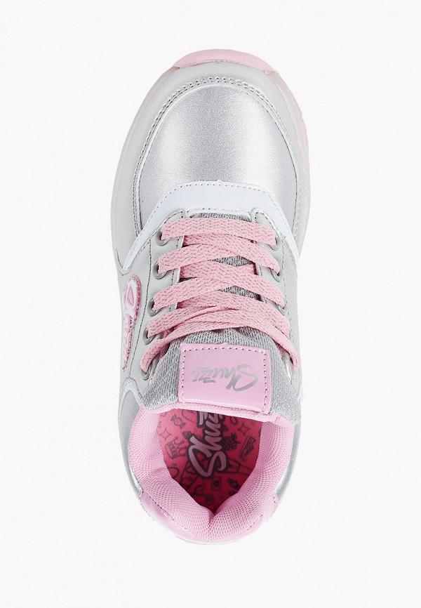 Кроссовки для девочки Shuzzi цвет серебряный  Фото 4