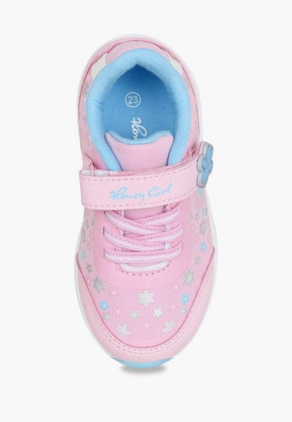 Кроссовки для девочки Honey Girl цвет розовый  Фото 2