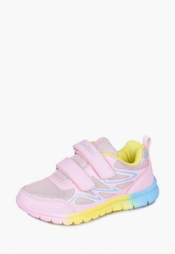 Кроссовки для девочки TimeJump цвет розовый  Фото 7