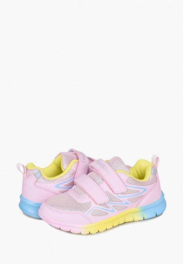 Кроссовки для девочки TimeJump цвет розовый  Фото 8