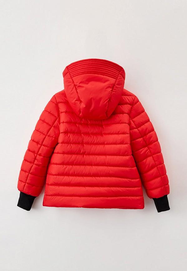 Куртка для девочки утепленная Артус цвет красный  Фото 2
