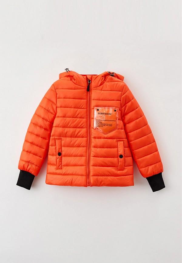 утепленные куртка артус для девочки, оранжевая