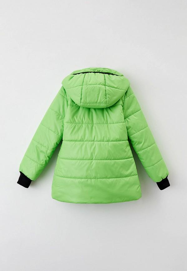 Куртка для девочки утепленная Артус цвет зеленый  Фото 2