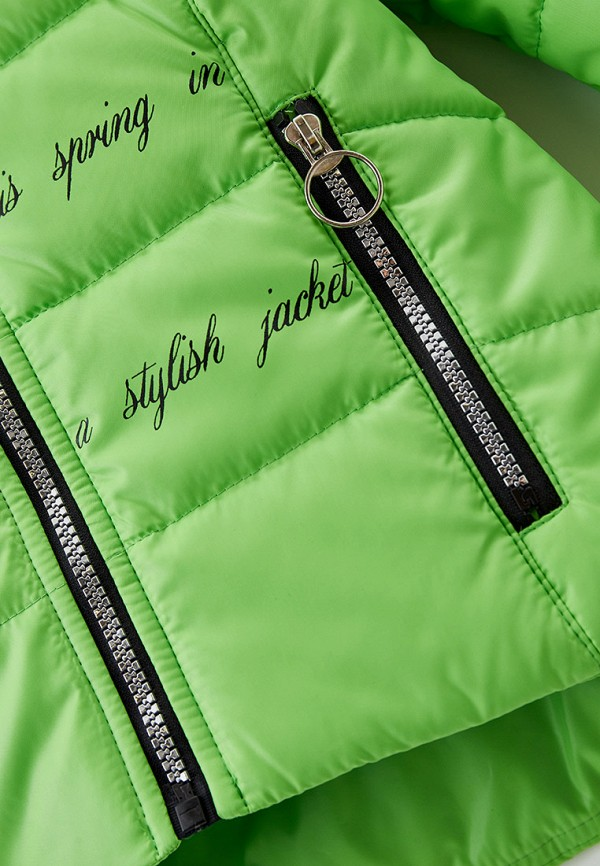 Куртка для девочки утепленная Артус цвет зеленый  Фото 3