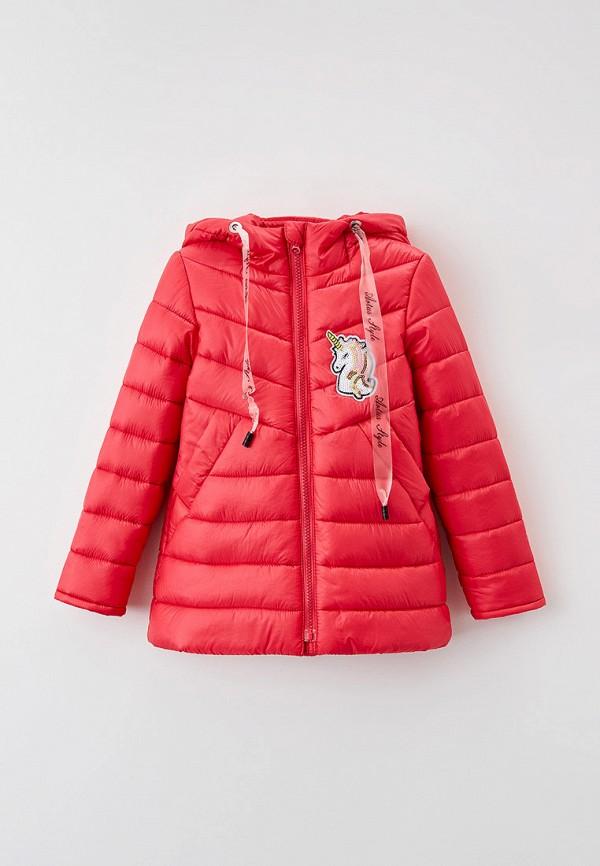 Куртка для девочки утепленная Артус цвет коралловый