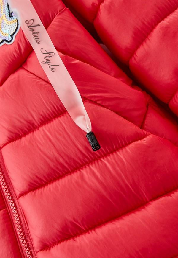 Куртка для девочки утепленная Артус цвет коралловый  Фото 3