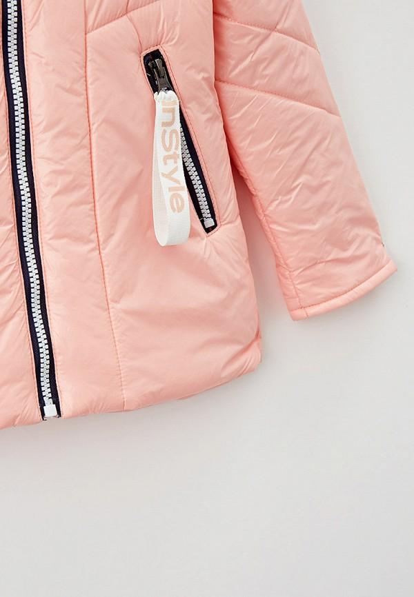 Куртка для девочки утепленная Артус цвет бежевый  Фото 3