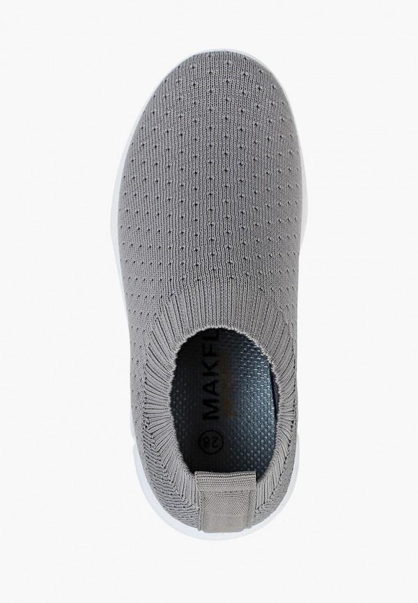 Кроссовки для девочки Makfly цвет серый  Фото 4
