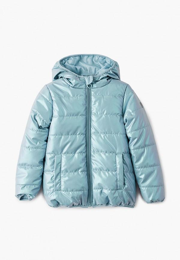 Куртка для девочки утепленная PlayToday цвет бирюзовый