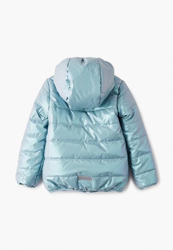 Куртка для девочки утепленная PlayToday цвет бирюзовый  Фото 2