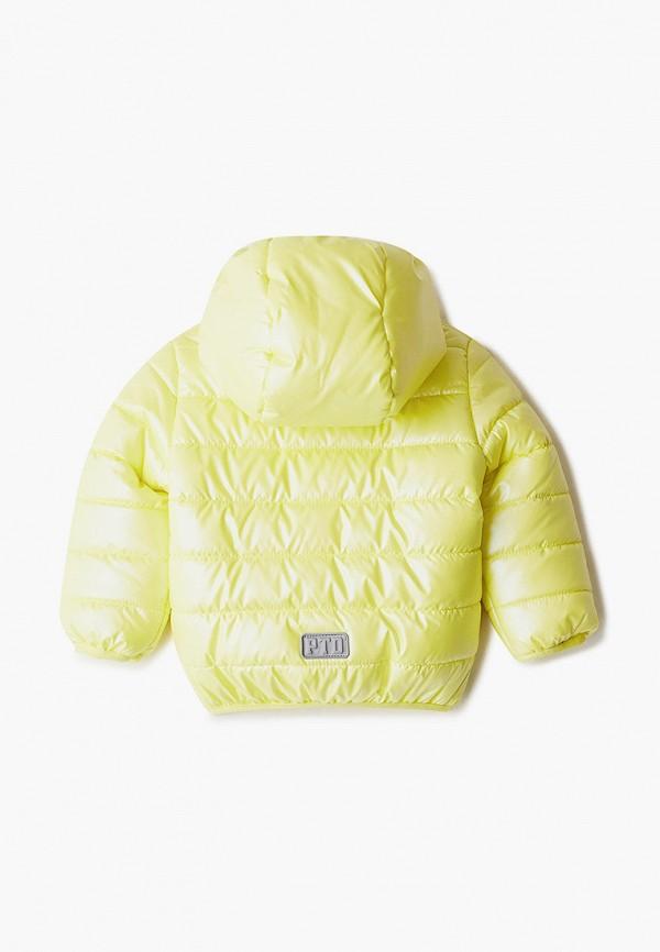 Куртка для девочки утепленная PlayToday цвет желтый  Фото 2
