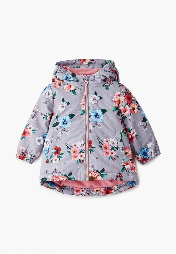Куртка для девочки утепленная PlayToday цвет серый
