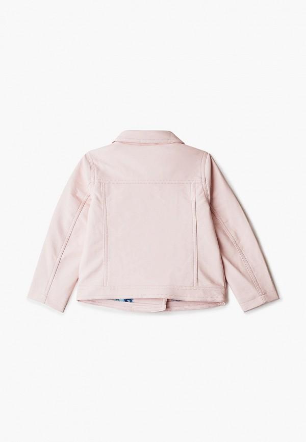 Куртка для девочки кожаная PlayToday цвет розовый  Фото 2