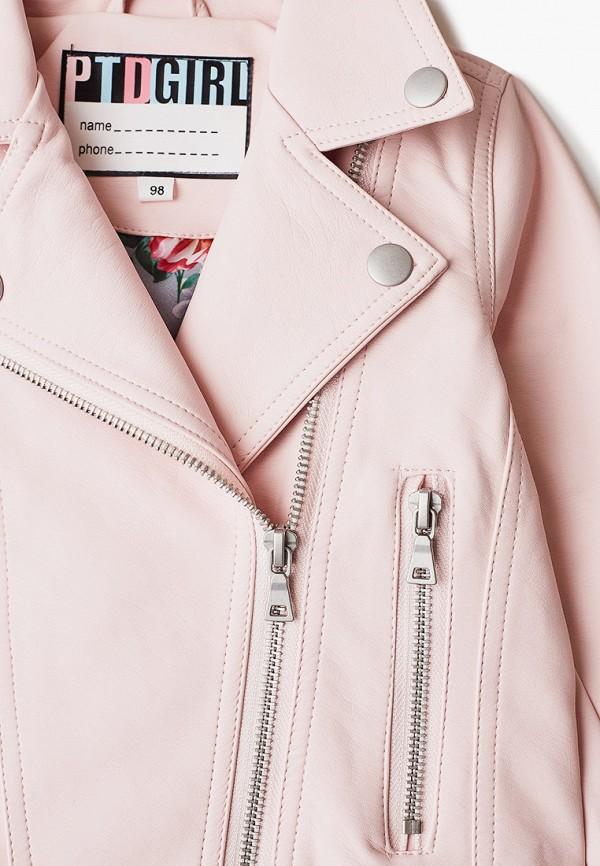 Куртка для девочки кожаная PlayToday цвет розовый  Фото 3