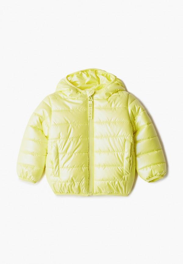 Куртка для девочки утепленная PlayToday цвет желтый