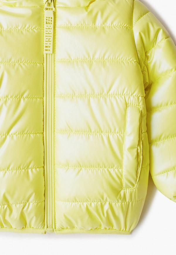 Куртка для девочки утепленная PlayToday цвет желтый  Фото 3